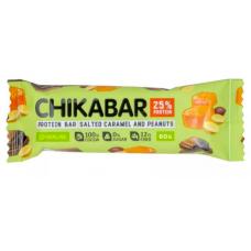 Протеин. шоколад. батончик Арахис/Карамель, Chikalab