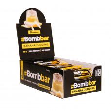 Протеин. батончик в шок. (банановый пудинг 40г), BOMBBAR