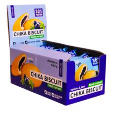 Протеин. бисквитное печенье Чер.смор. 50г, Chikalab