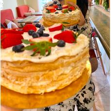 Блинный торт, AishaFood
