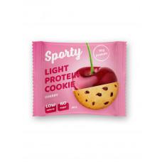 Легкое протеиновое печенье Вишня, Sporty