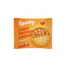 Легкое протеиновое печенье Яблочный пирог, Sporty