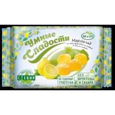 Мармелад желейный с лимоном 200г,  Умные Сладости