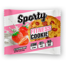 Печенье овсяное клубника, Sporty