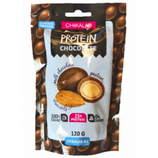 Протеин. шоколад. драже с миндалем, Chikalab