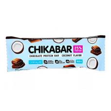 Протеин. шоколад. батончик Кокос, Chikalab