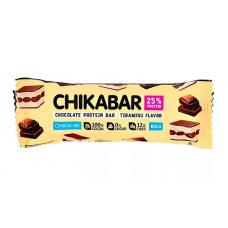 Протеин. шоколад. батончик Тирамису, Chikalab